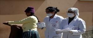 Especialista combatiendo el arenavirus