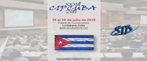 Cartel alegórico a el XXXVII Congreso Interamericano de esa especialidad (CIPCUBA2019)