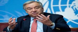 Secretario general de Naciones Unidas, António Guterres
