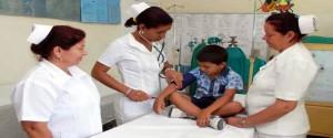 Enfermeras cubanas