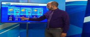 os meteorólogos cienfuegueros tienen las mejores evaluaciones técnicas de pronósticos del tiempo en el país. El licenciado Álvaro Pérez Senra ofrece el parte del tiempo en el canal local de TV
