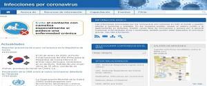 Información actualizada en Infomed sobre nuevo coronavirus