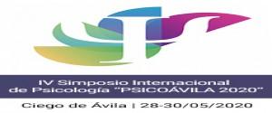 Cartel alegórico al  IV Simposio Internacional de Psicología