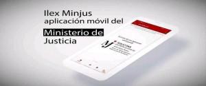 Aplicación iLex Minjus, concebida para teléfonos móviles con sistema operativo androide
