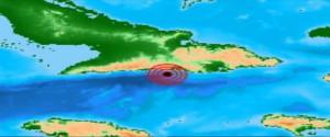 Reportan nuevo sismo perceptible al suroeste de la ciudad de Santiago de Cuba