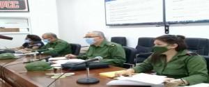 Consejo de Defensa Provincial en La Habana. Foto: Ricardo Gómez.