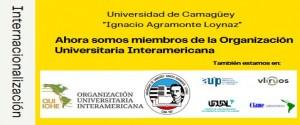 Nombrada la Universidad de Camagüey miembro de la Organización Universitaria Interamericana