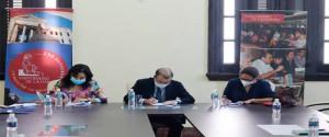 Fundación Universitaria para la Innovación y el Desarrollo firma convenio de cooperación internacional