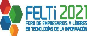 Logo del  Foro de Empresarios y Líderes en Tecnologías de la Información, FELTi 2021