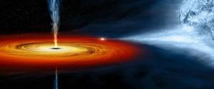 Imagen ilustrativa de un agujero negro
