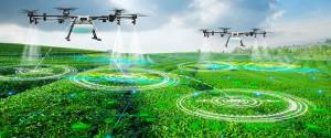 Agricultura de precisión. Sensores, satélites y en particular los drones. Foto: interempresas.net