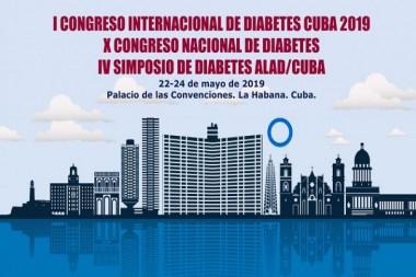 Cartel alegórico al I Congreso Internacional de Diabetes
