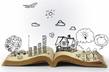 Cartel alegórico a la narración oral