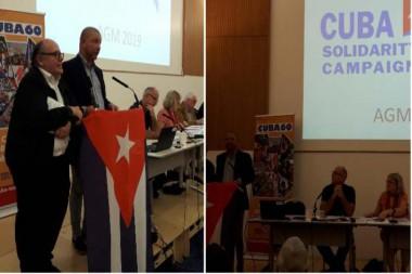 Médico cubano comparte sus experiencias con colegas del Reino Unido
