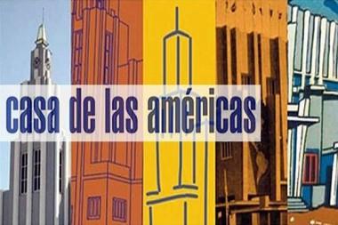Cartel alegórico a  Casa de las Américas