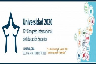 Logo del Congreso Internacional Universidad 2020