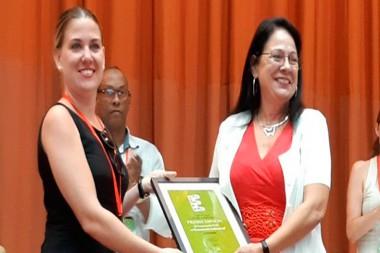 Recibe Citmatel el Premio Espacio en la categoría de Comunicación Institucional