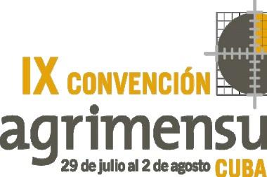Logo de la IX Convención Agrimensura 2019