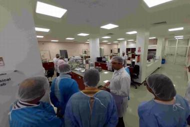 Delegación de BioCubaFarma en Siria
