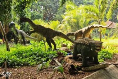 Parque temático de dinosaurios