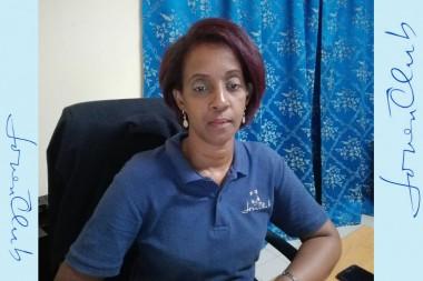 Sandra Mesa Castellón, directora provincial de los Joven Club de Computación y Electrónica en Cienfuegos
