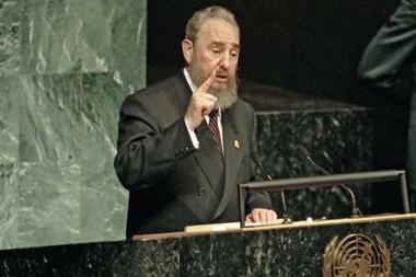 Histórico discurso del Comandante en Jefe Fidel Castrio Ruz en la Conferencia de la ONU sobre Medio Ambiente y Desarrollo, en 1992