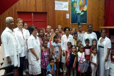 Jornada científica para niños asmáticos en el hospital infantil Juan Manuel Márquez