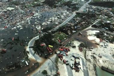 Devastator paso del huracán Dorian por Bahamas