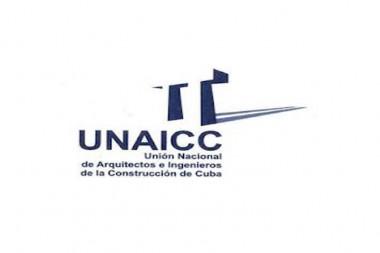 Logo de la  Unión Nacional de Arquitectos e Ingenieros de la Construcción de Cuba
