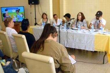 Reunión en el  Centro Nacional de Educación Sexual (Cenesex)