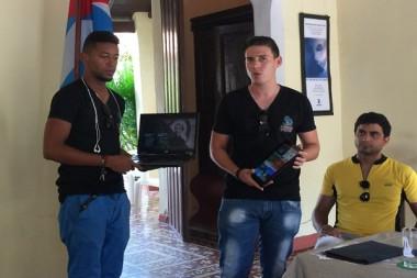 Alumnos en La Universidad de Camagüey