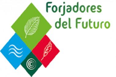 Cartel alegórico a la décimo sexta edición de la exposición provincial Forjadores del Futuro