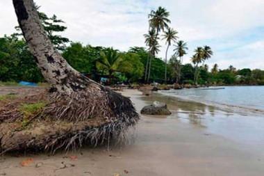 Zona costera de Cuba