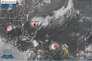 Tormentas tropicales. Foto: National Hurricane Center/NOAA