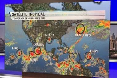 Seis ciclones presentes al mismo tiempo en los Océanos Atlántico y Pacífico