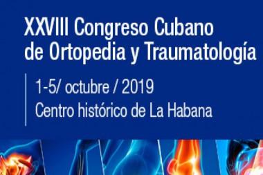 Cartel alegórico al XXVIII Congreso Cubano de Ortopedia y Traumatología
