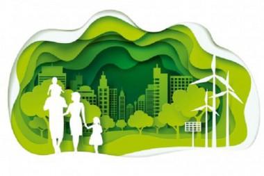 Cartel alegórico al cuidado del medio ambiente