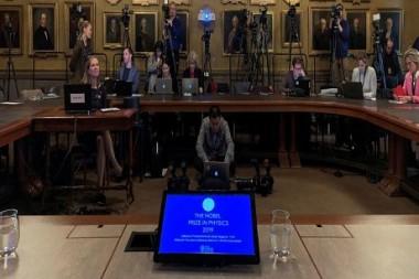 Anuncian a los ganadores del Premio Nobel de Física 2019