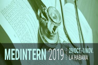 Cartel alegórico al XII Congreso Nacional de Medicina Interna MEDINTERN 2019