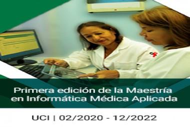 Convocatoria a la primera edición de la Maestría en Informática Médica Aplicada