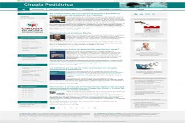 Sitio web Cirugía Pediátrica renueva su imagen y sus posibilidades