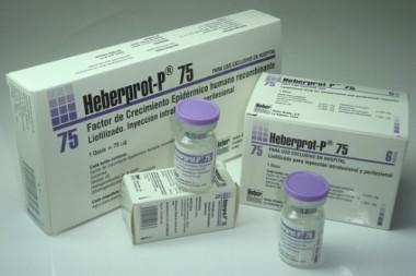 Biofármaco cubano Heberprot-P