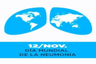 Cartel alegórico al 12 de noviembre, Día Mundial de la Neumonía