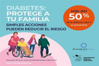 Cartel alegórico al Día Mundial de la Diabetes 2019