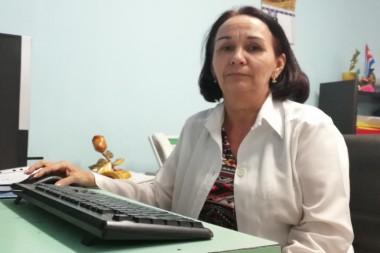 Dra. Mileny Acosta Fonseca vicedirectora de asistencia médica del Hospital Pediátrico Paquito González Cueto
