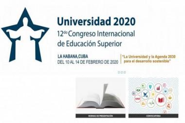 Cartel alegórico al XII Congreso Internacional Universidad 2020