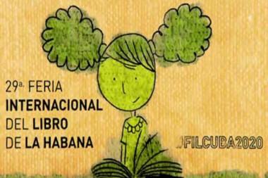 Cartel alegórico a la 29 Feria Internacional del Libro de La Habana