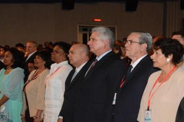 Miguel Díaz-Canel Bermúdez en la inauguración del XII Congreso Internacional de Educación Superior «Universidad 2020»