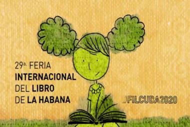 Cartel alegórico a la Feria Internacional del Libro de La Habana