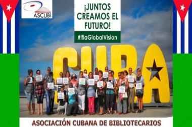 El evento es auspiciado por la Asociación Cubana de Bibliotecarios (Ascubi). Foto tomada del blog institucional de la Ascubi.